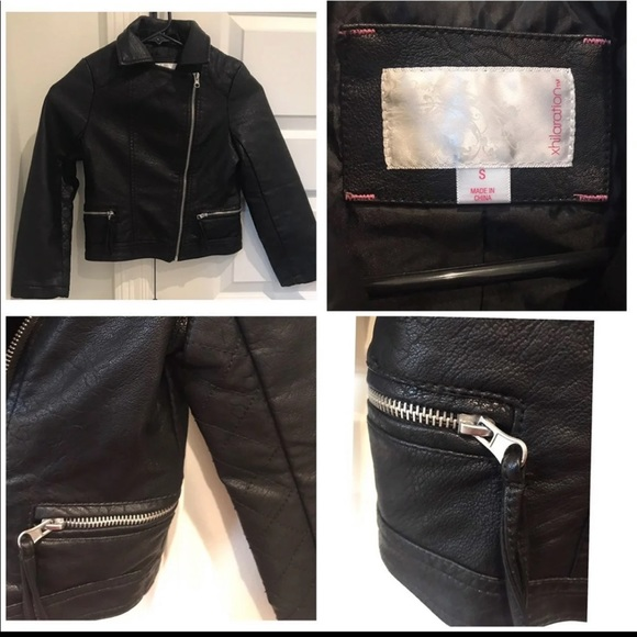 Xhilaration Other - Girls leather Jacket ( black )